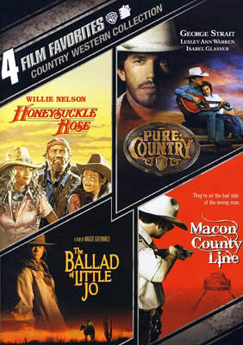 Honeysuckle-Rose-Pure-Country-Ballad-of-Little-Jo-Macon-County-Line-DVD-NEW