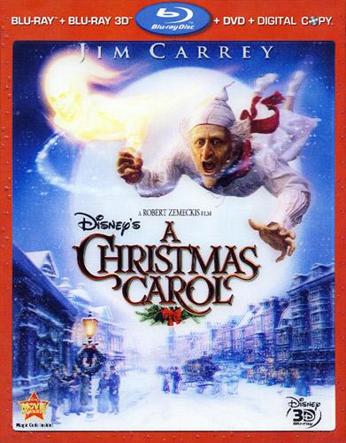 Disney'S A Christmas Carol 3D BLU RAY NEW 2009 JIM Carrey BLU RAY DVD | eBay
