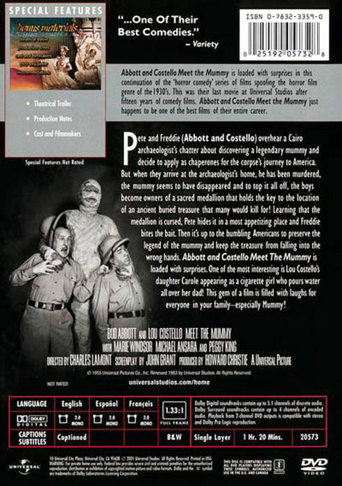 meet the mummy dvd